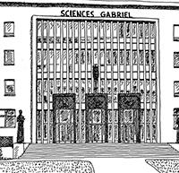 bâtiment gabriel