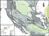 carte géologique Franceville