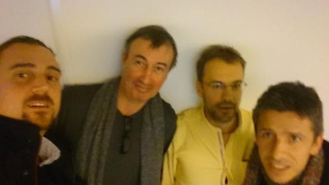 B. Bois, LJ Reynaud, S. Kahn, H. Quenol © Radio France