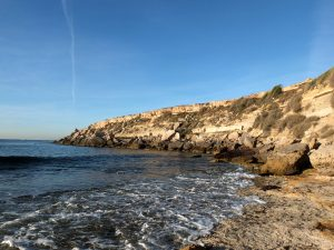 Affleurement Miocène de la pointe de Tamaris près de Carry-Le-Rouet (Bassin Liguro-Provençal, France)