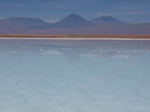 Lagune La brava (désert d'Atacama, Chili)